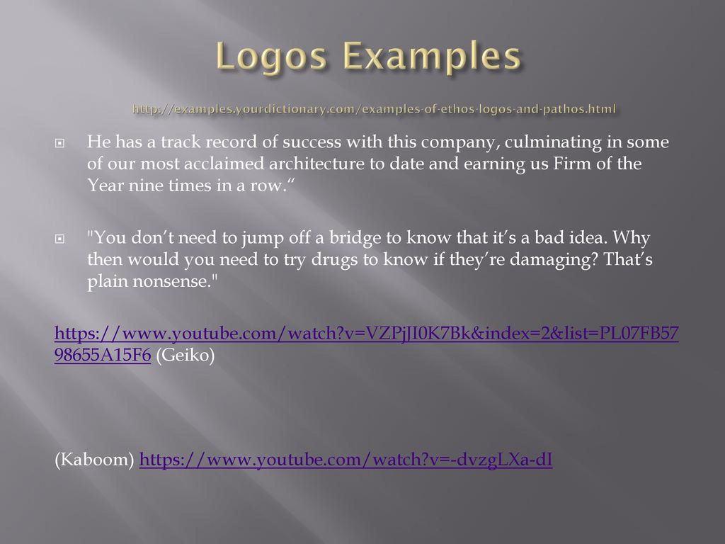 Logos Examples   yourdictionary