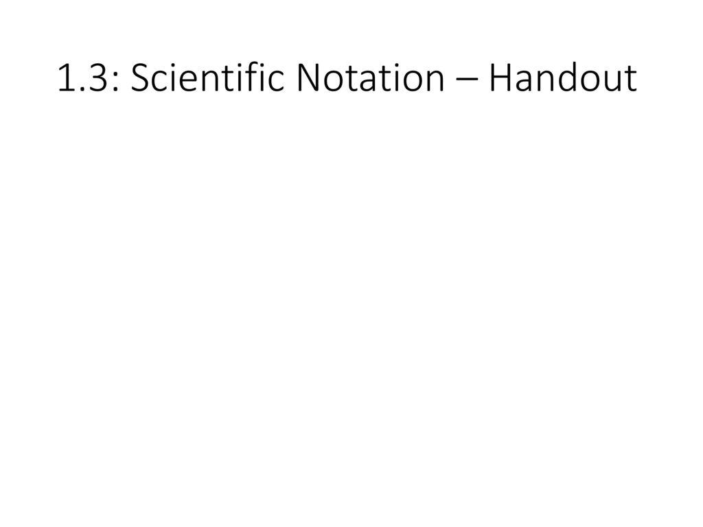 Scientific Notation Coloring Worksheet | Scientific notation ...