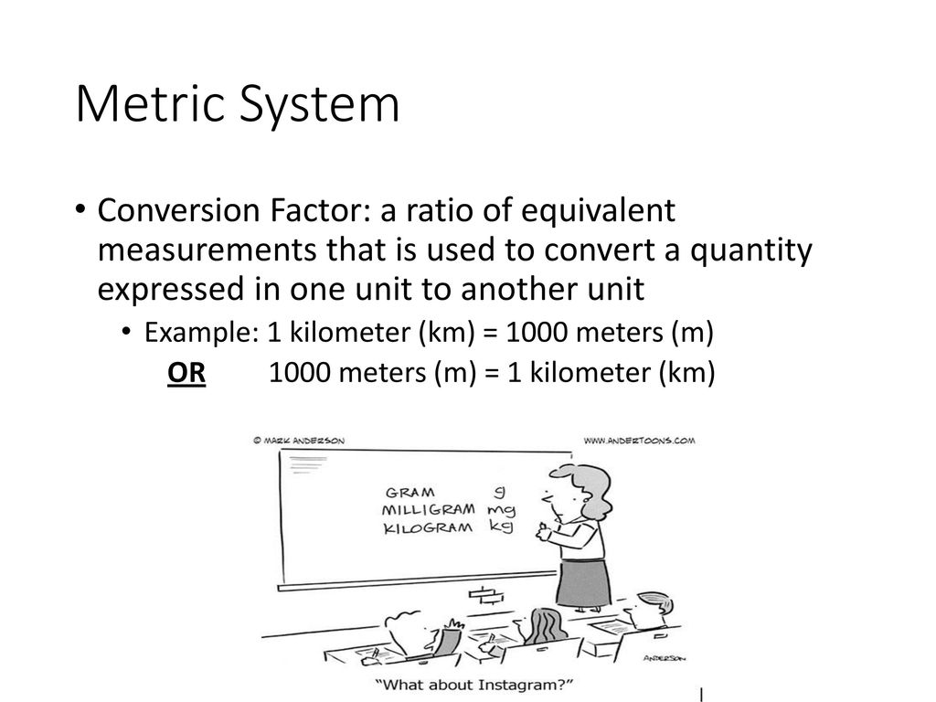 13 measurement and scientific notation ppt download 7 metric system conversion geenschuldenfo Images