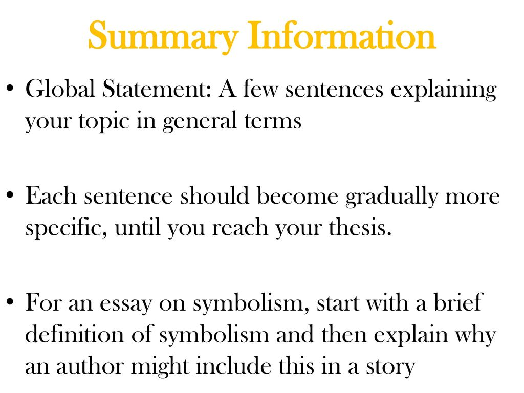 Essay introductions attention grabbers ppt download 6 summary information biocorpaavc Choice Image