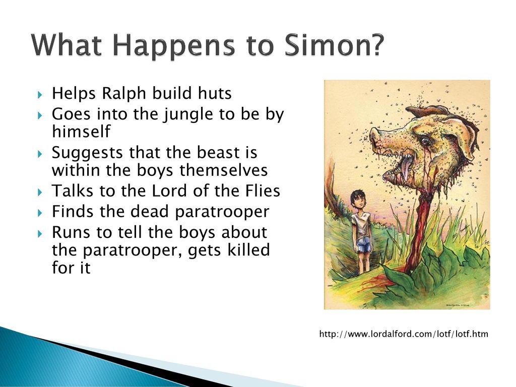 simon lord of the flies