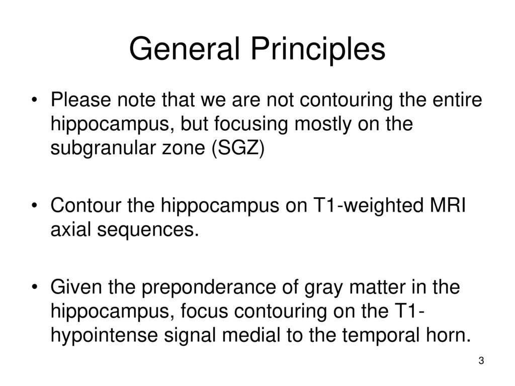 Hippocampal Contouring: A Contouring Atlas for RTOG ppt download