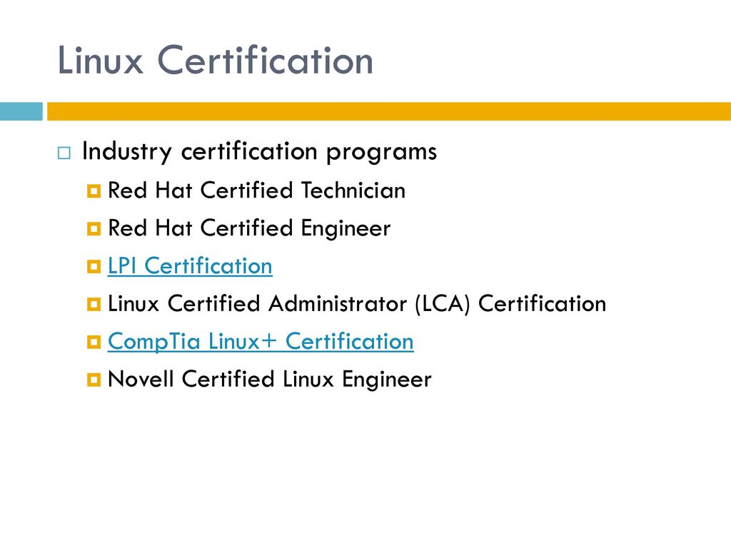 It320 operating system concepts ppt download linux certification industry certification programs xflitez Images