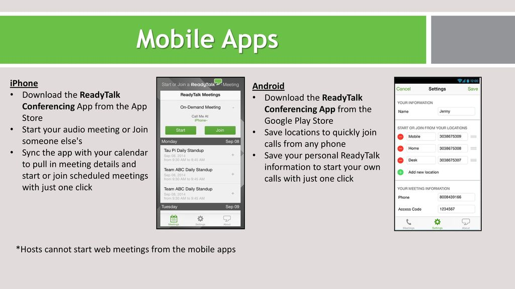 click meeting apps