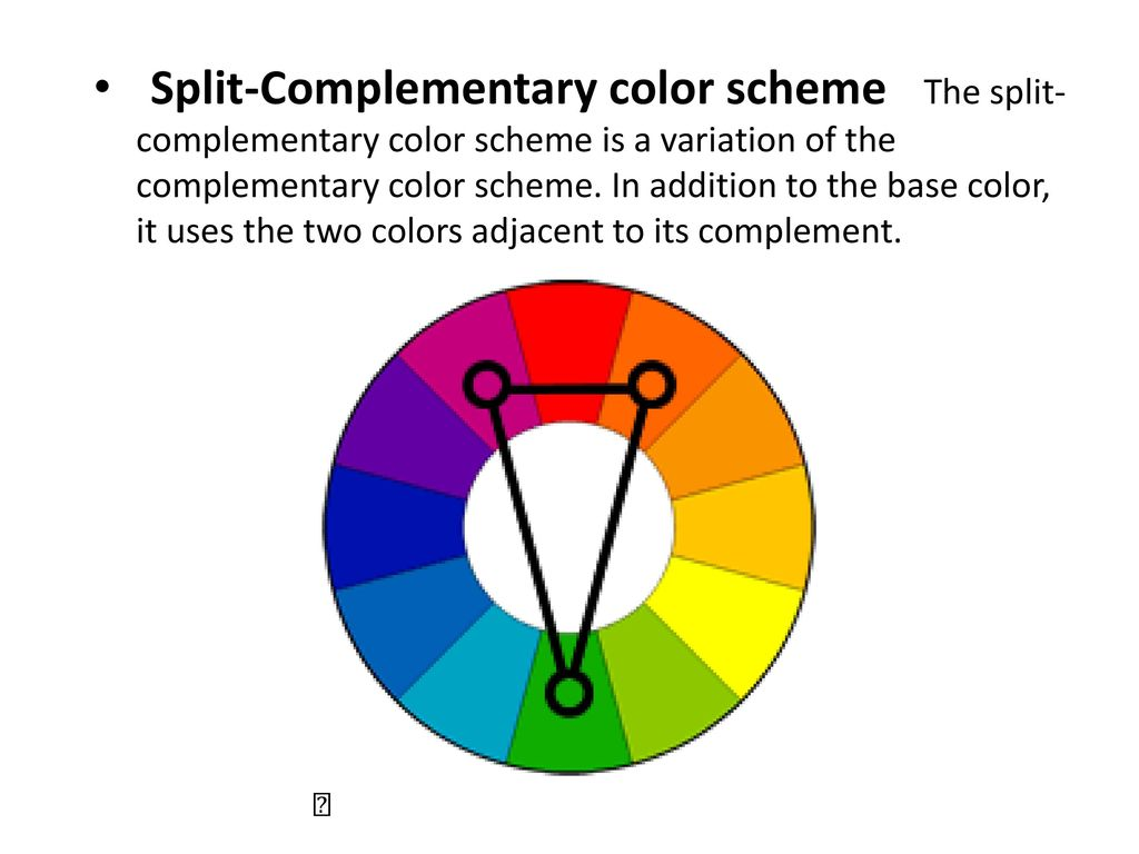 COLOR IS IMPORTANT AND POWERFUL Ppt Download Split Complementary