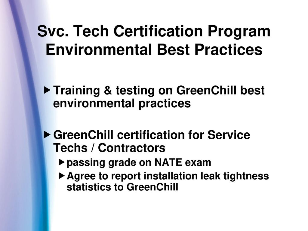 Epa the supermarket industry partners in environmental svc tech certification program environmental best practices xflitez Choice Image