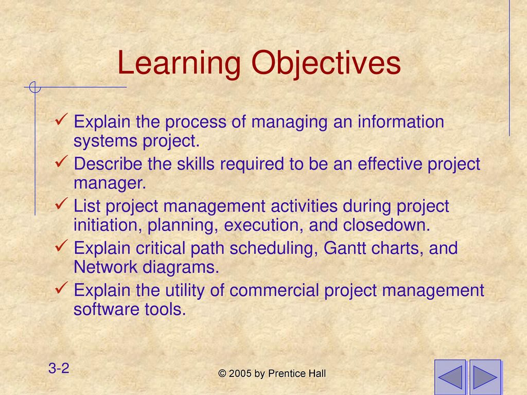 Chapter 3 managing the information systems project ppt download 2 learning objectives nvjuhfo Image collections