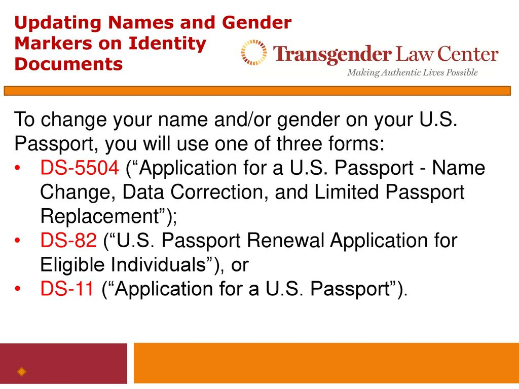 Updating names and gender markers on federal identity documents 15 ds 11 application falaconquin