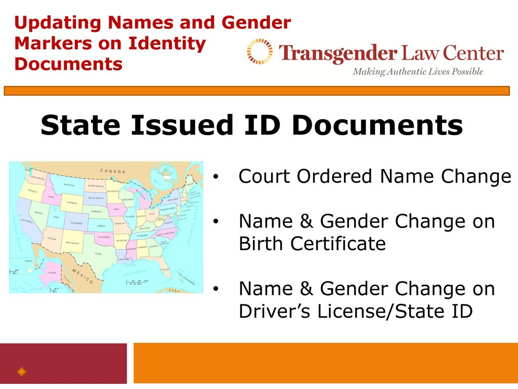 Updating names and gender markers on federal identity documents 4 state issued id documents 1betcityfo Image collections