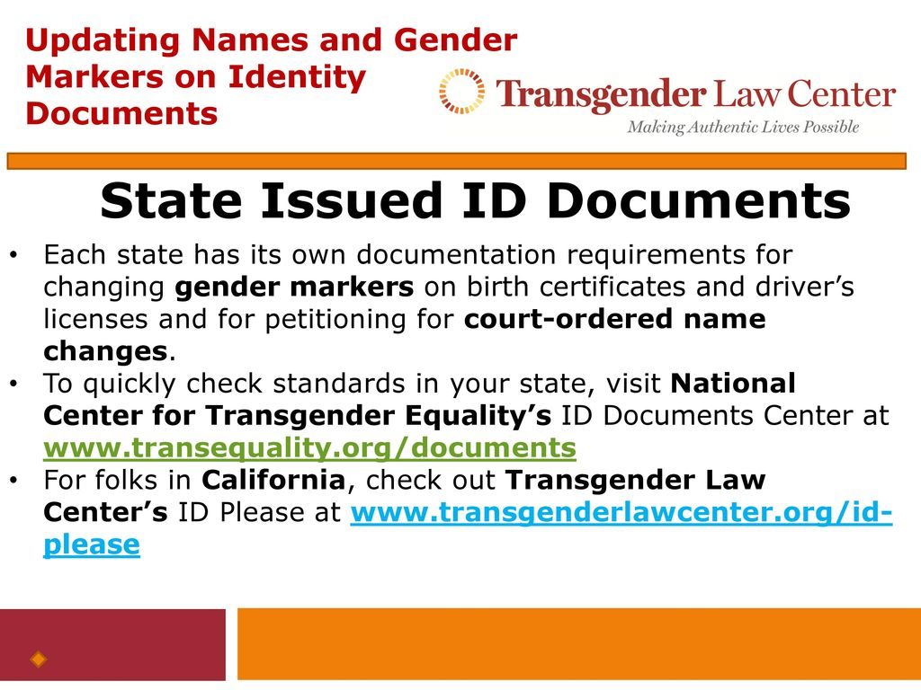 Updating names and gender markers on federal identity documents 5 state issued id documents 1betcityfo Image collections
