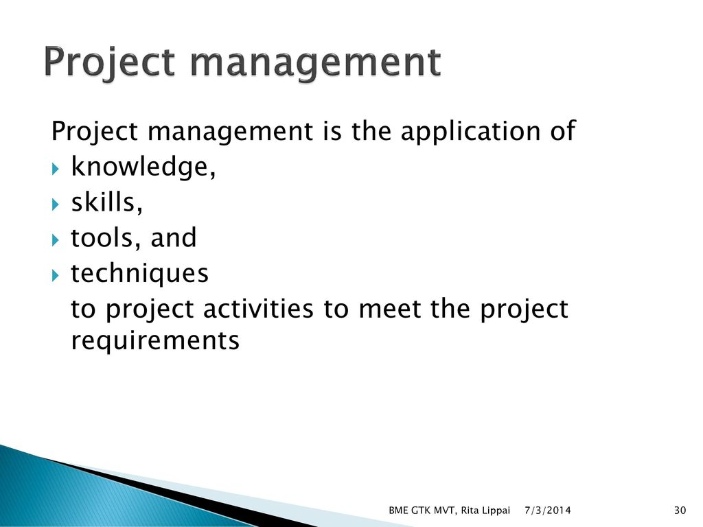 application of project management tools on Introduction project management has emerged as a discipline of high level decision making with the help of analogue and digital tools which would help.