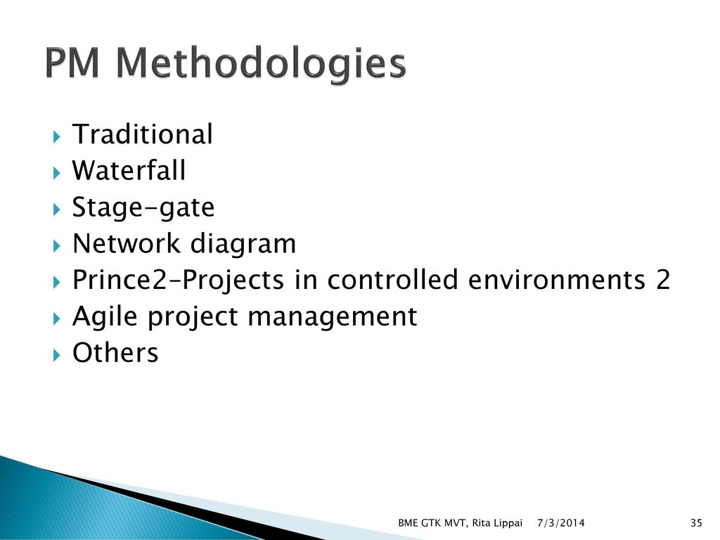 Basics of project management ppt download for Waterfall management