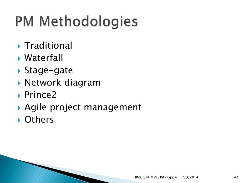 Basics of project management ppt download for Traditional project management methodology