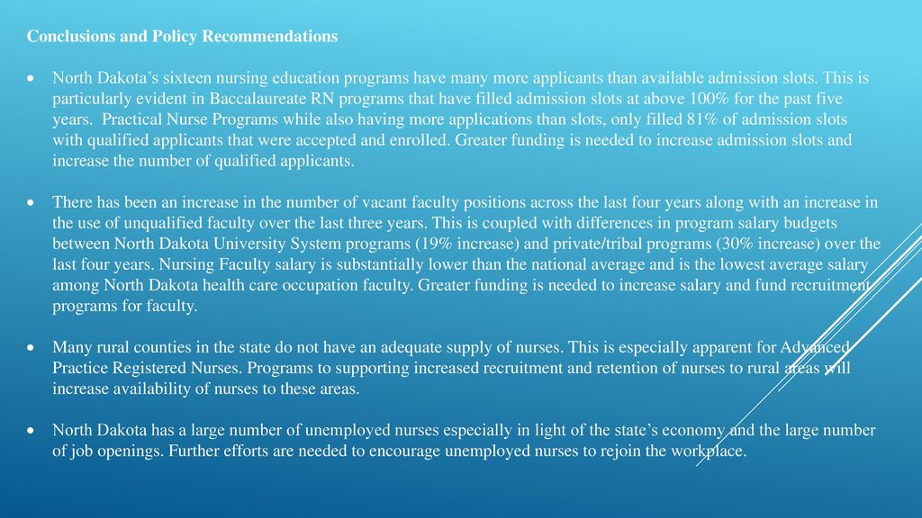 enrollment system conclusion and recommendation