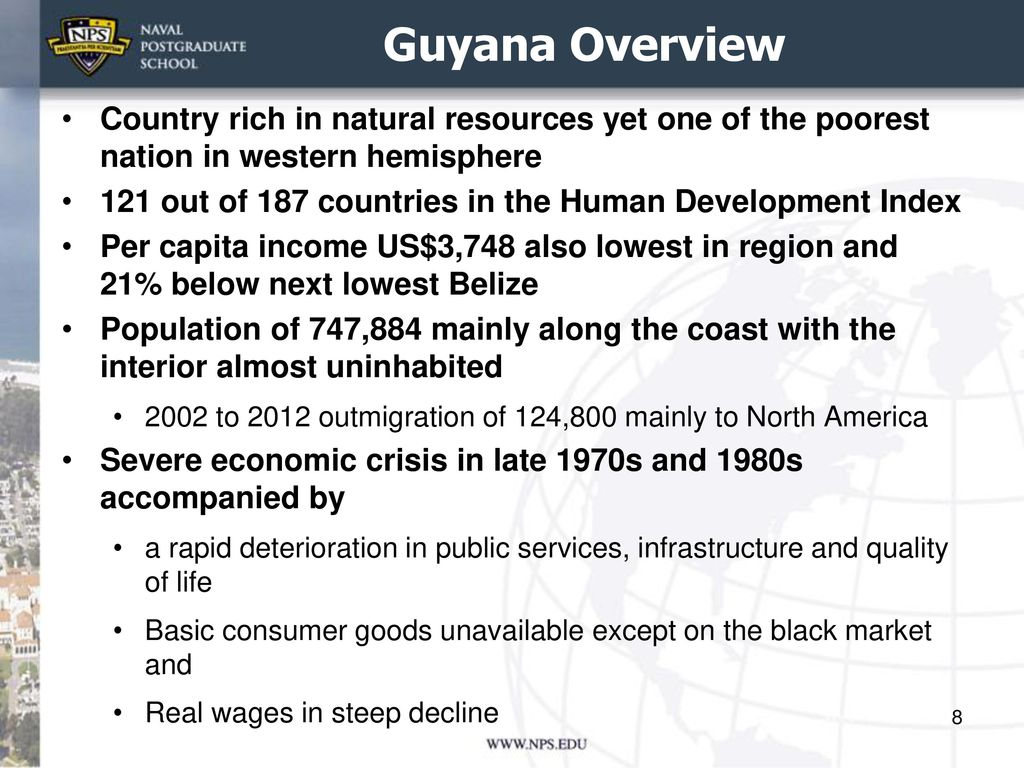 NS Winter Term Economies Of Surinam And Guyana Ppt Download - Poorest countries in the western hemisphere 2016
