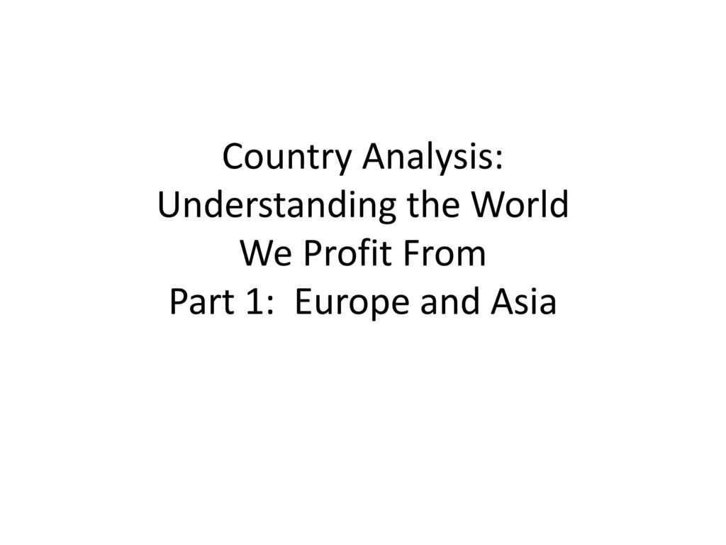 understanding the population of a country This prb policy brief aims to improve understanding of population  the  population of a country or area grows or declines through the.