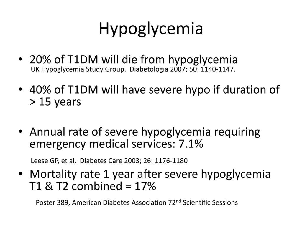 Practice Tools | Hypoglycaemia in Diabetes | IHSG Online