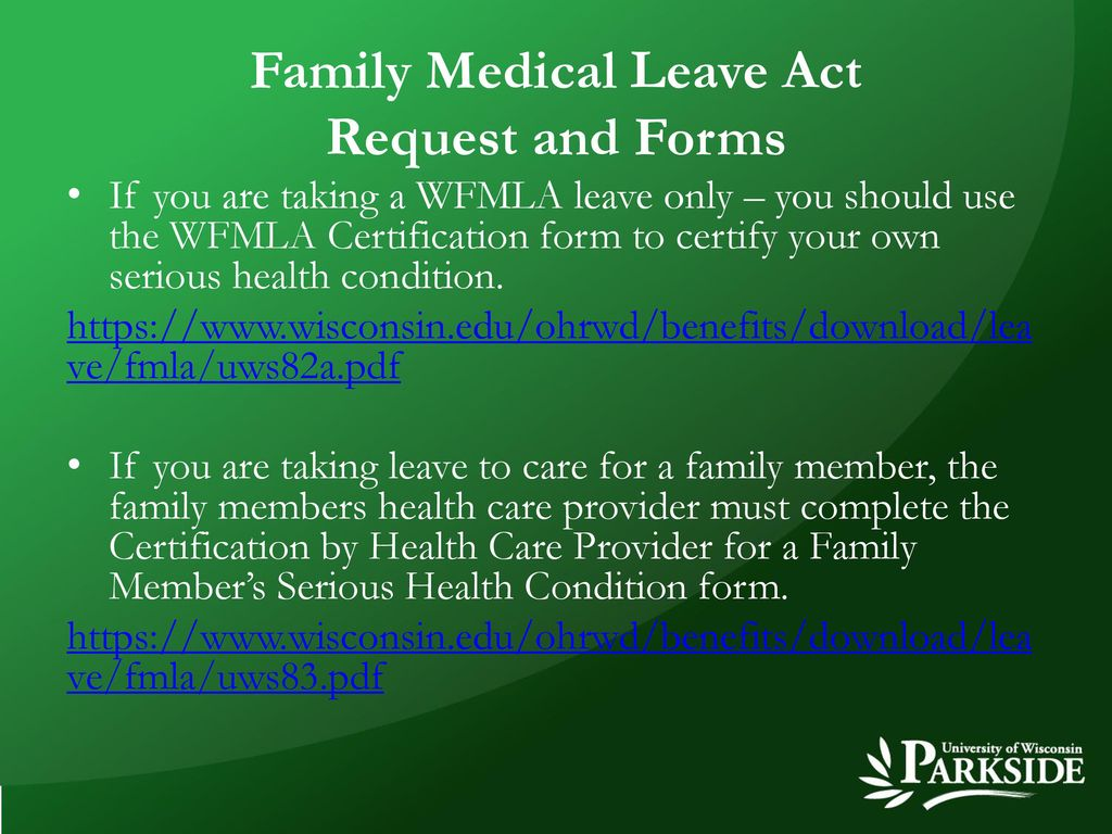 Family Medical Leave Act Request And Forms