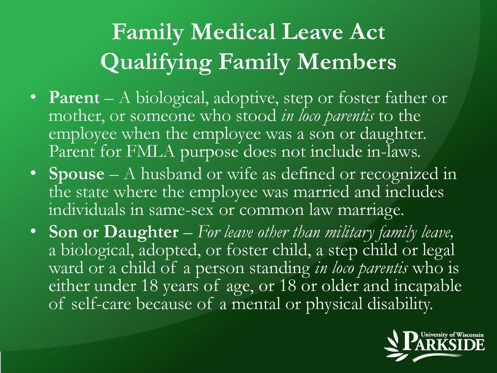 Family medical leave act ppt download 4 family falaconquin