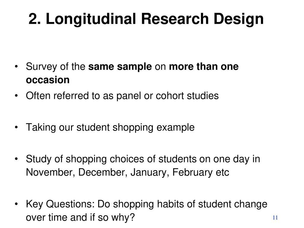 Longitudinal study | definition of longitudinal study by ...