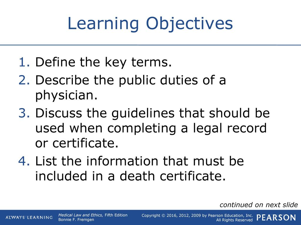 7 public duties of the healthcare professional ppt download 2 learning objectives xflitez Choice Image