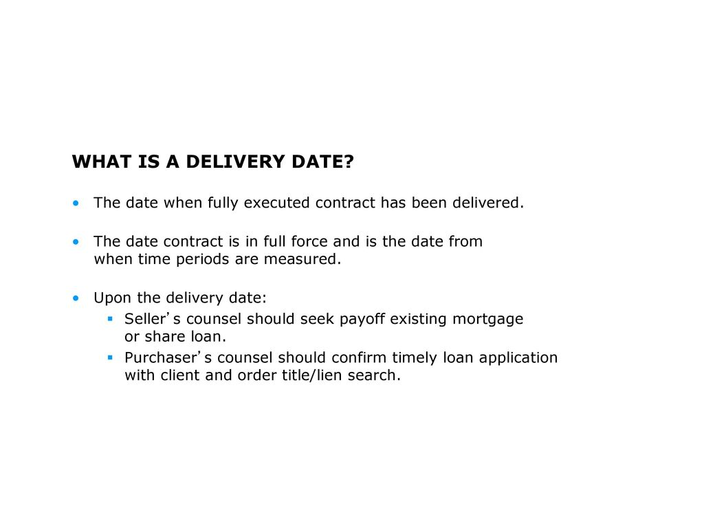 Due diligence financial statements ppt download what is a delivery date the date when fully executed contract has been delivered platinumwayz