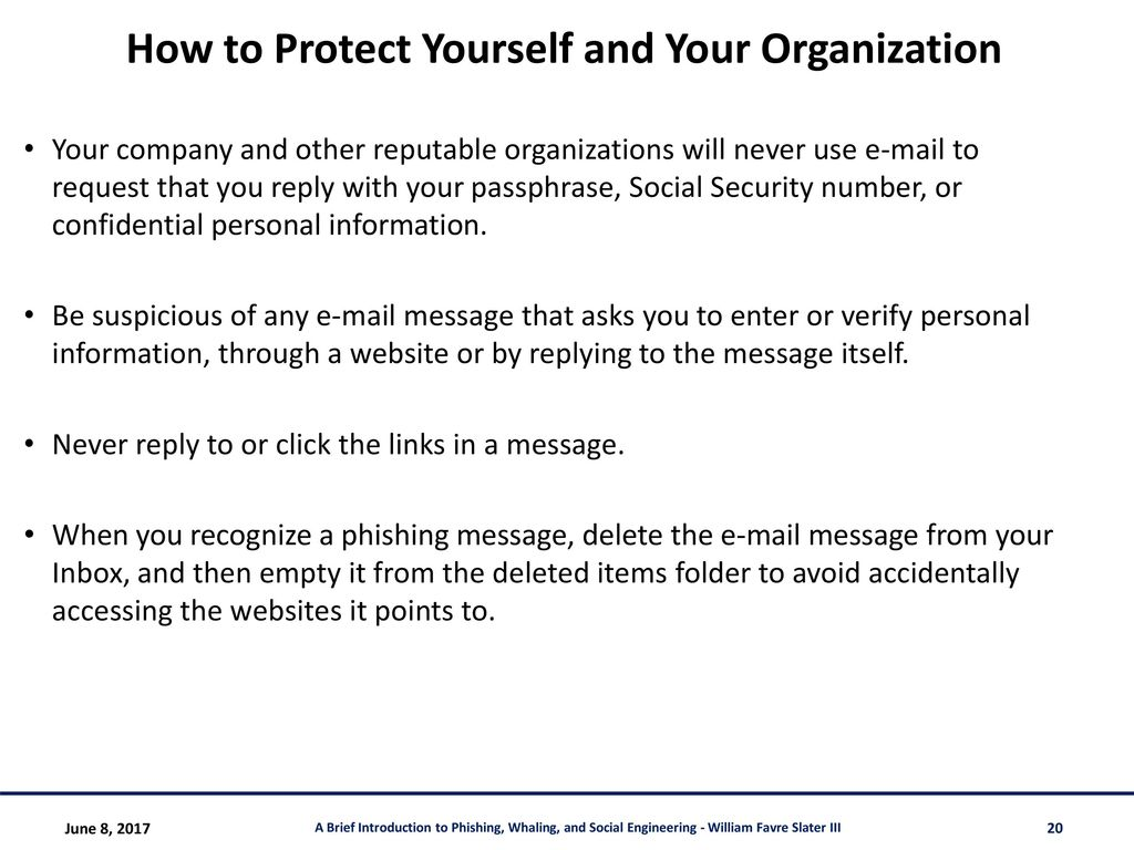 A Brief Introduction to Phishing, Spear Phishing, Whaling ...