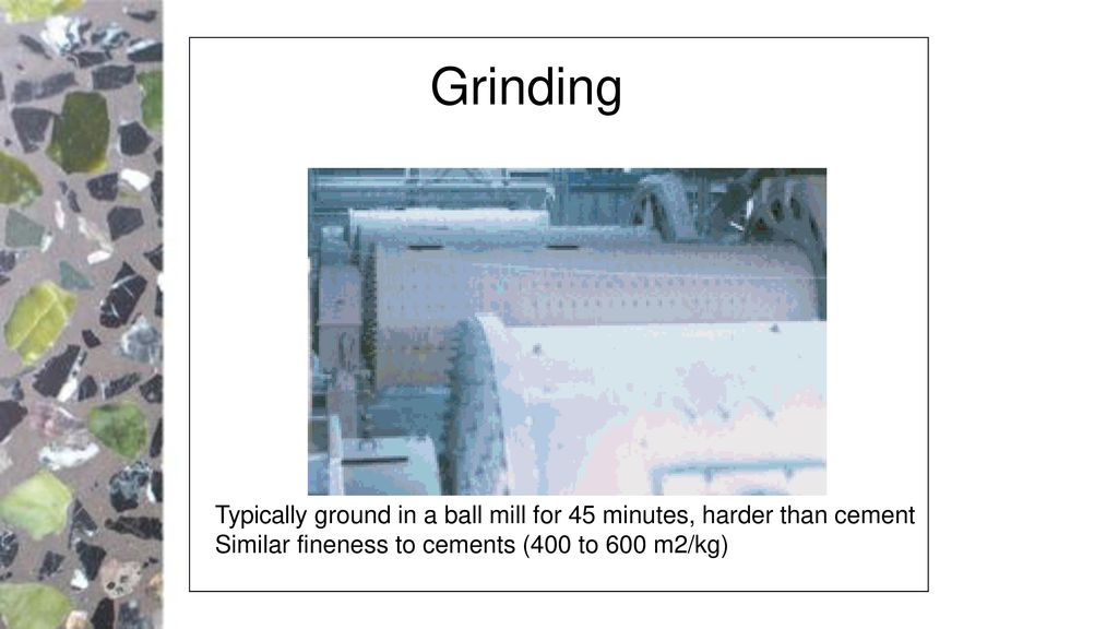 Portland Cement Ball Mill : Supplementary cements ppt download
