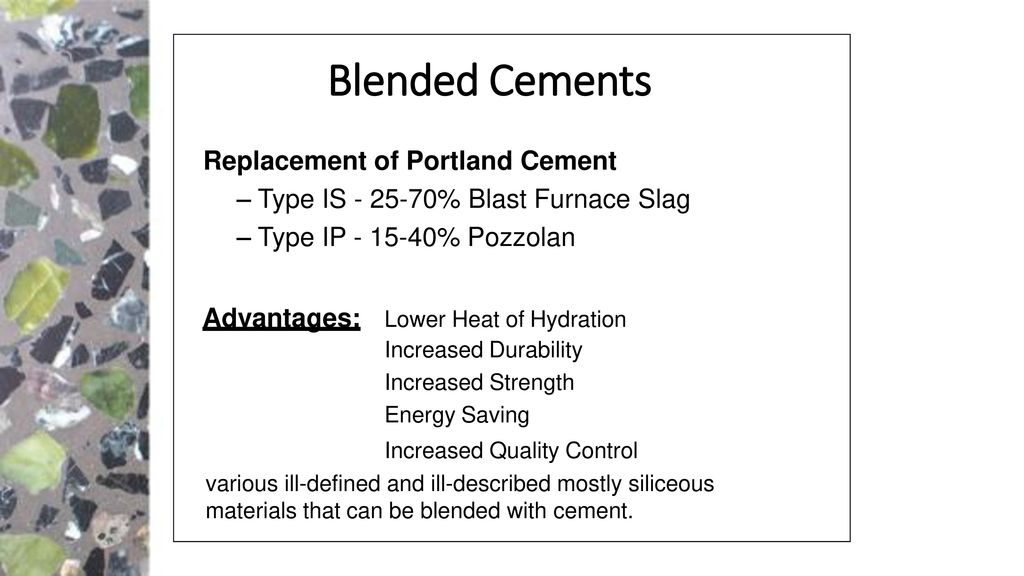 types of portland cement pdf