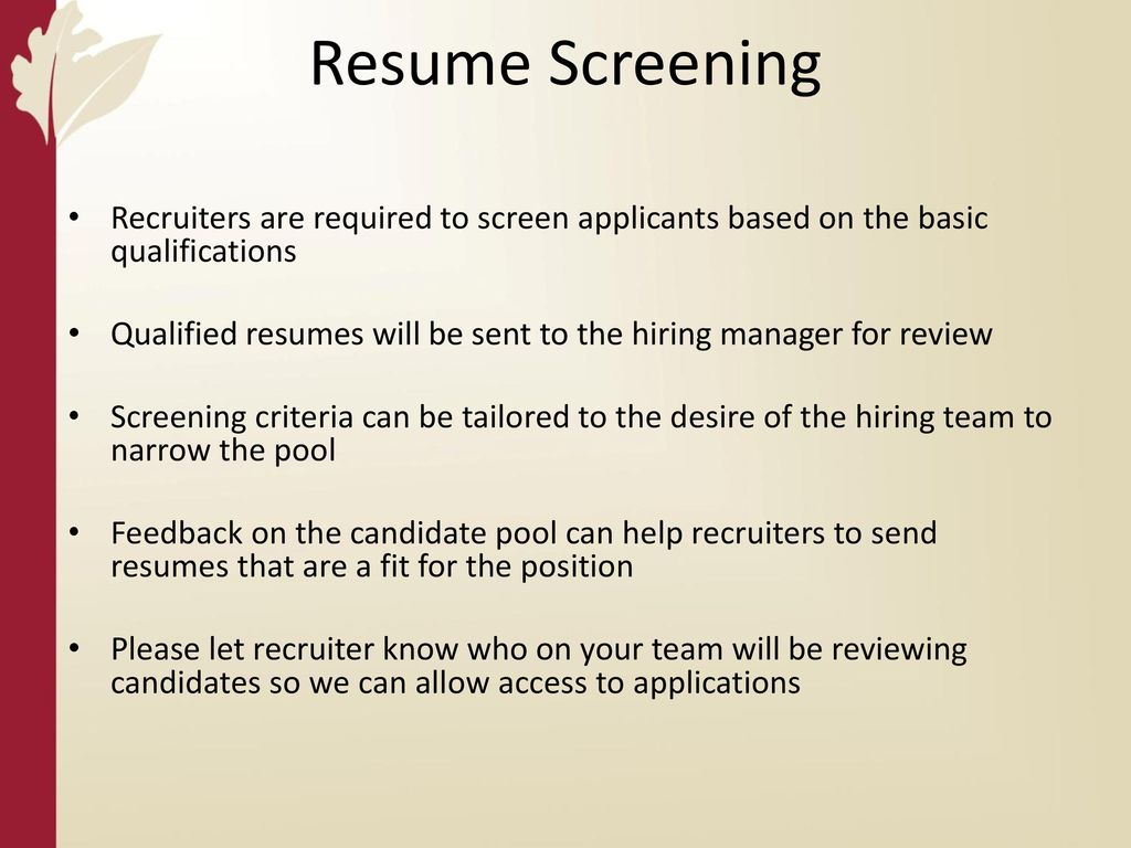 Beautiful Hiring Manager Resume Review Ideas - Entry Level Resume ...