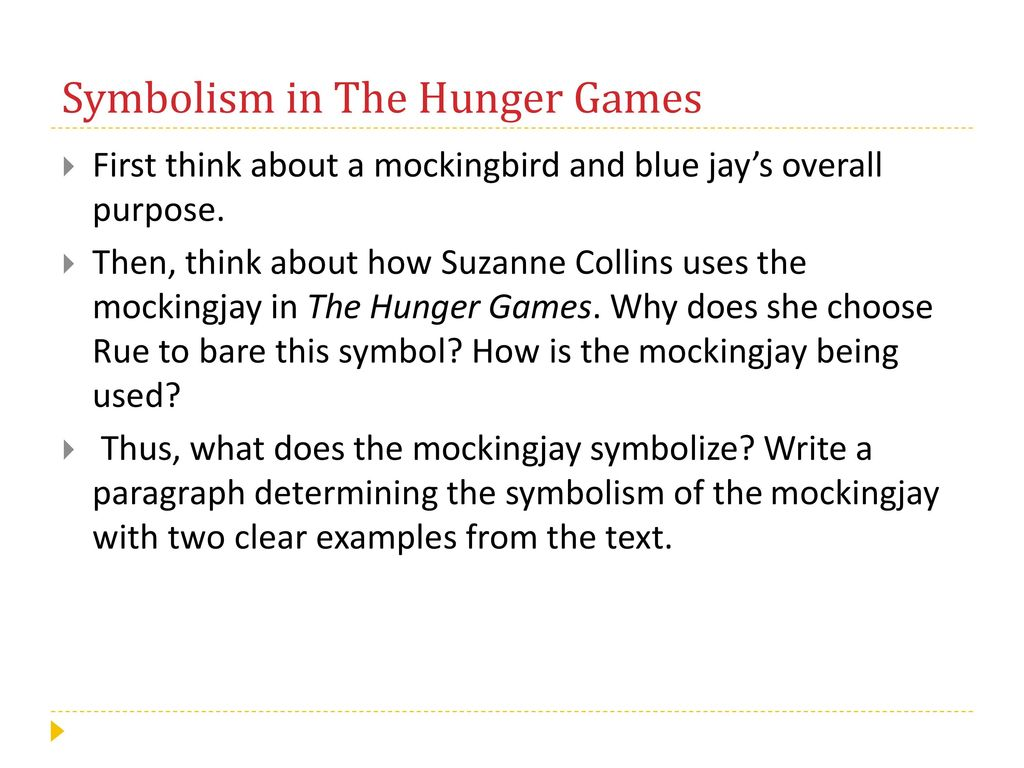 What does the mockingjay symbolize in the hunger games garden irony please create a venn diagram in your binder ppt ccuart Gallery