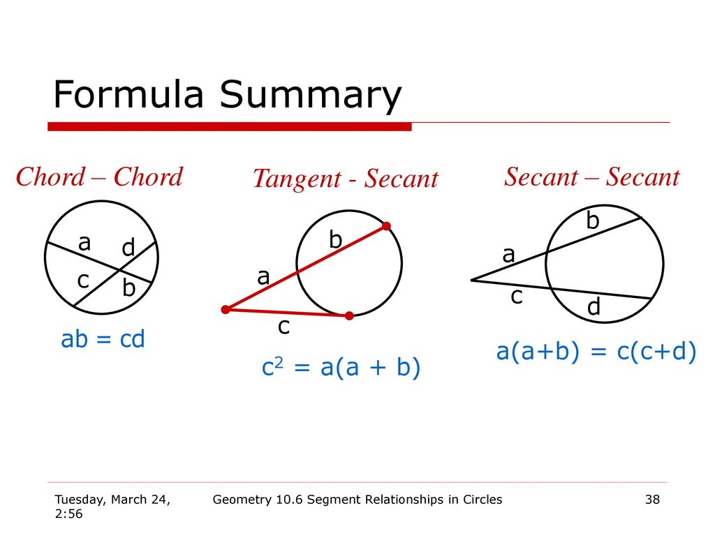 Geometry 106 segment relationships in circles ppt download 38 geometry hexwebz Gallery