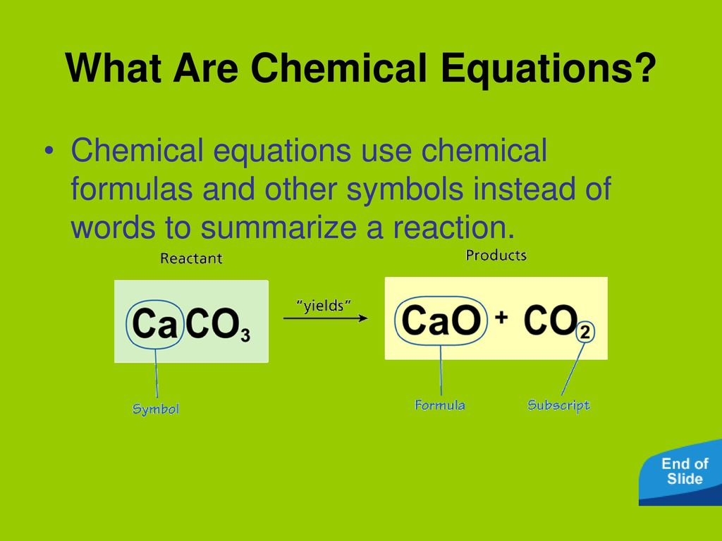 Describing chemical reactions ppt download what are chemical equations biocorpaavc Choice Image