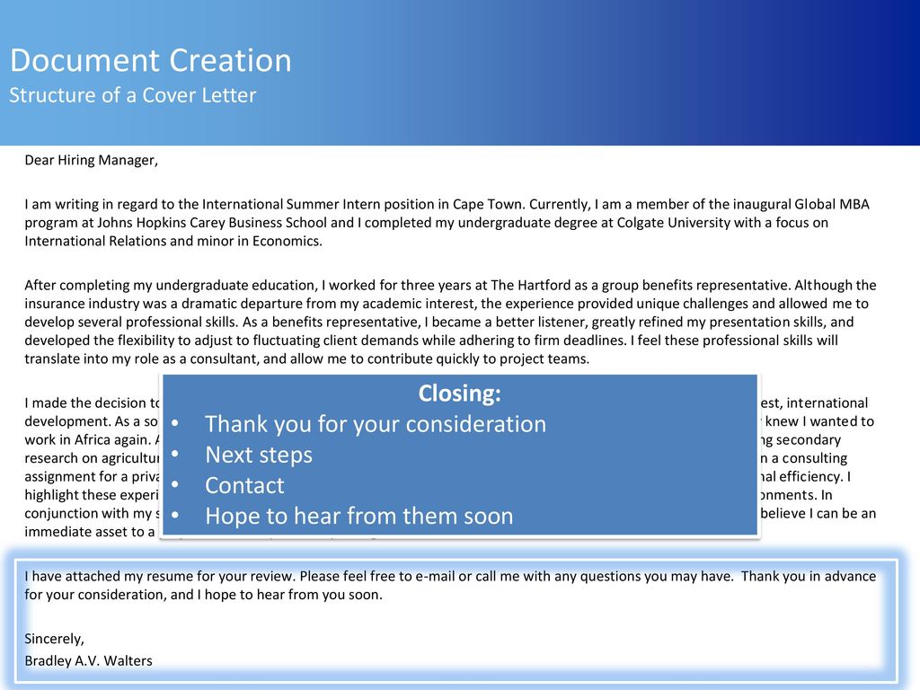 anatomy of a cover letter - Roho.4senses.co