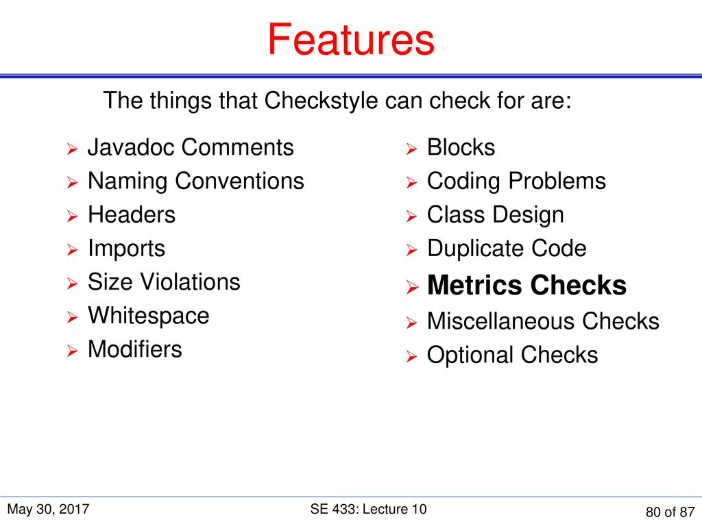 duplicate check style