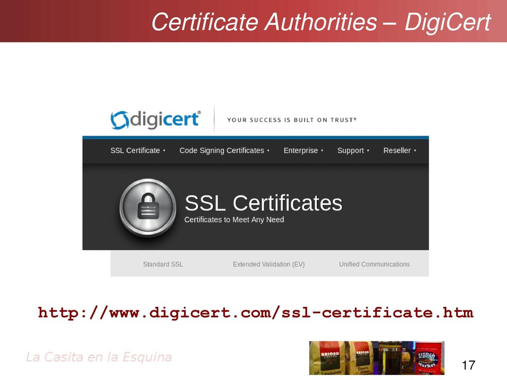 Ssltls and pki getting going with secure sockets ppt download certificate authorities digicert 1betcityfo Image collections