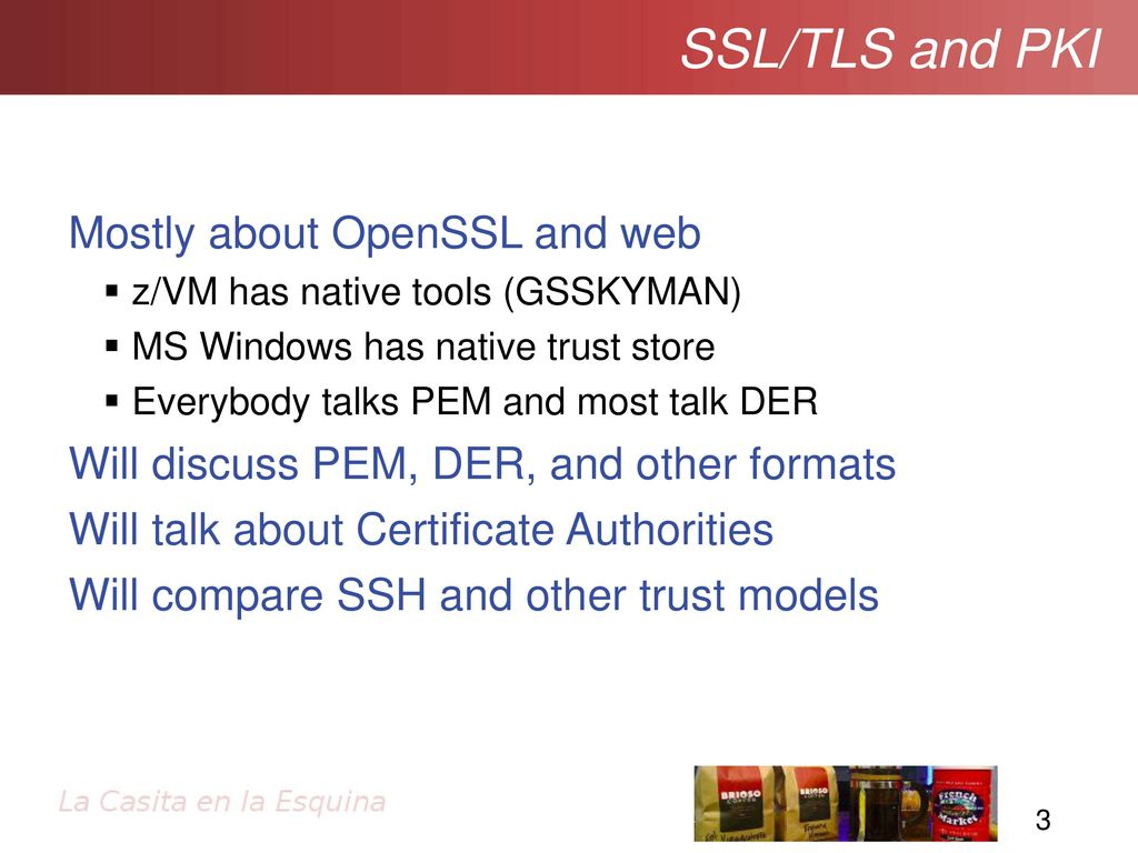 Ssltls and pki getting going with secure sockets ppt download ssltls and pki ipv6 for ipv6 for mostly about openssl and web 1betcityfo Choice Image