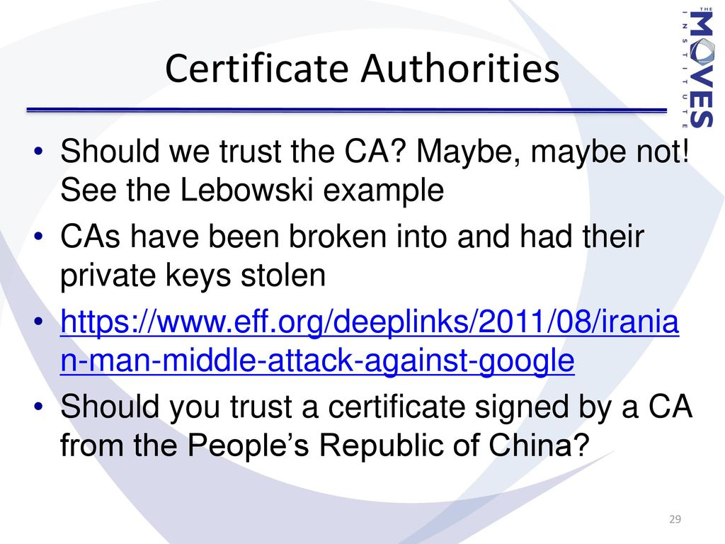 Secure communications ppt download certificate authorities 1betcityfo Images