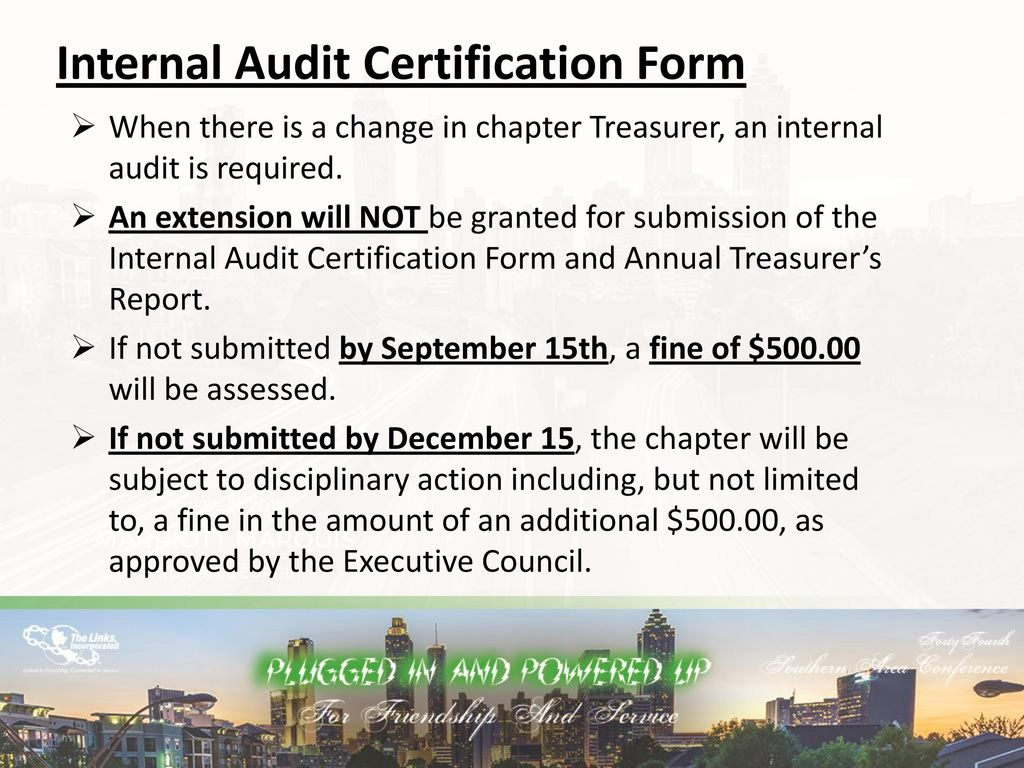 Links finances its all about the money ppt download internal audit certification form 1betcityfo Gallery