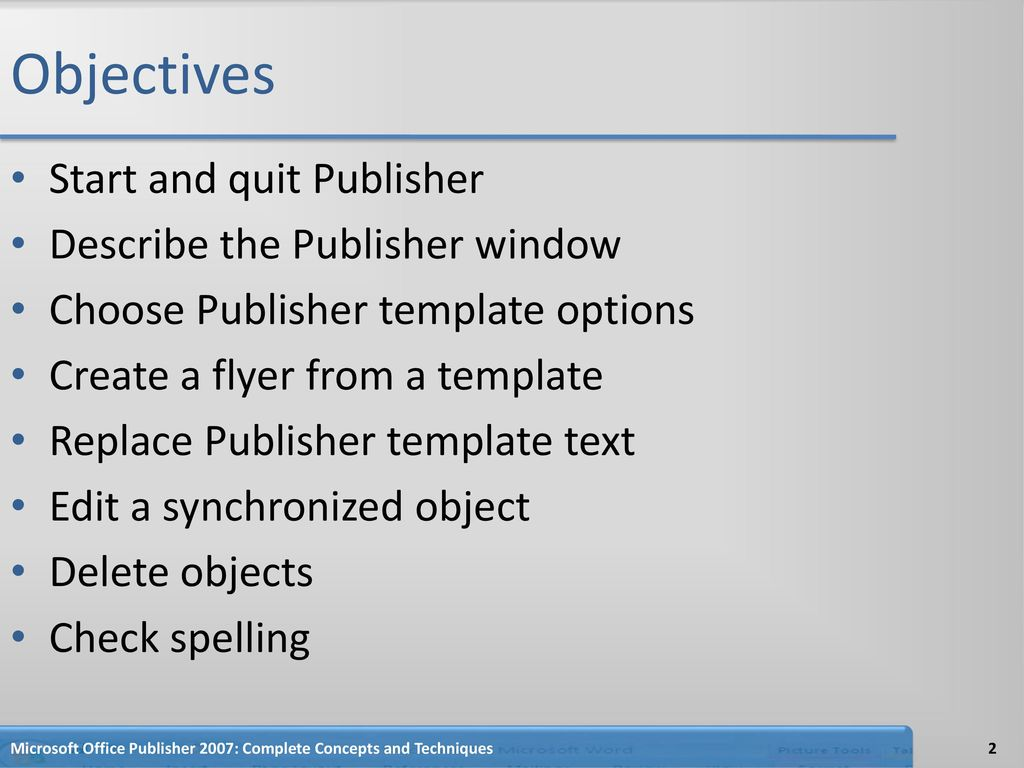 Creating and Editing a Publication - ppt download