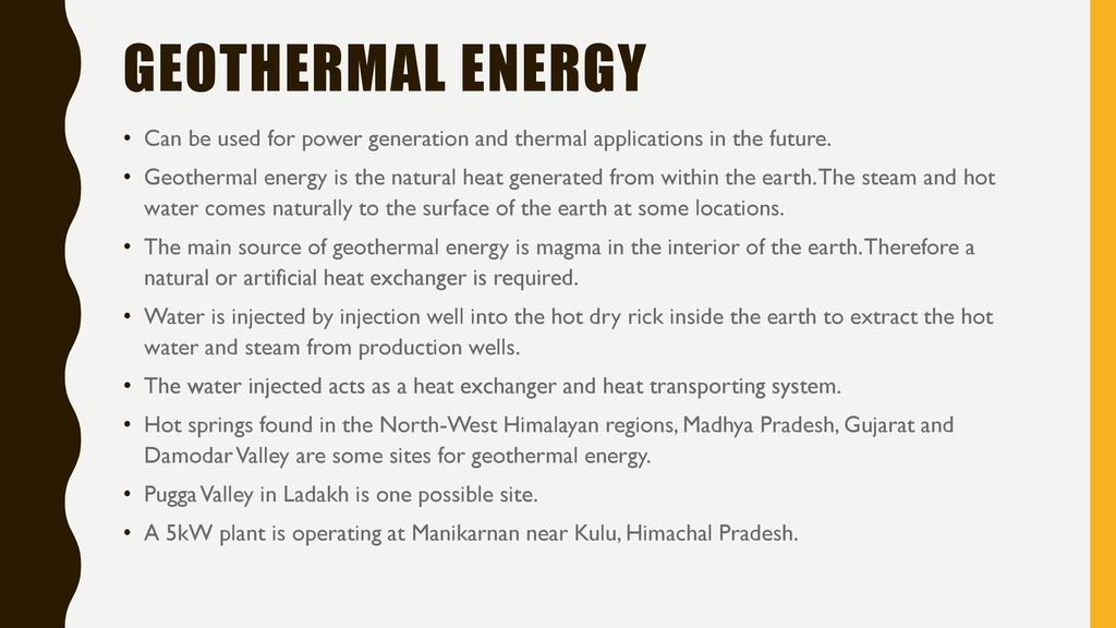 applications of geothermal energy pdf