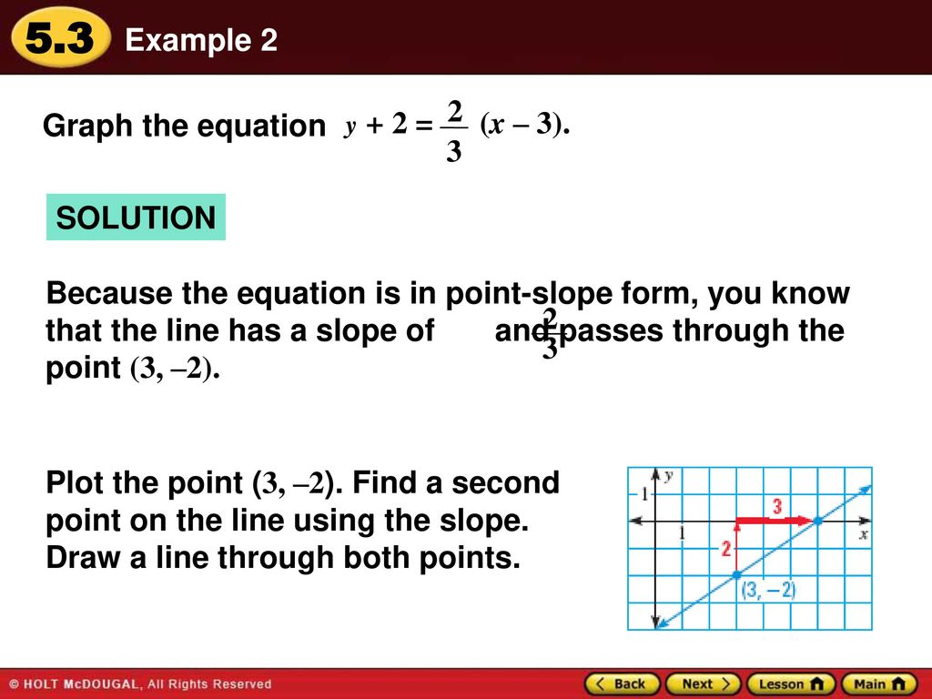 Warm up lesson presentation lesson quiz ppt download plot the point 3 2 find a second falaconquin