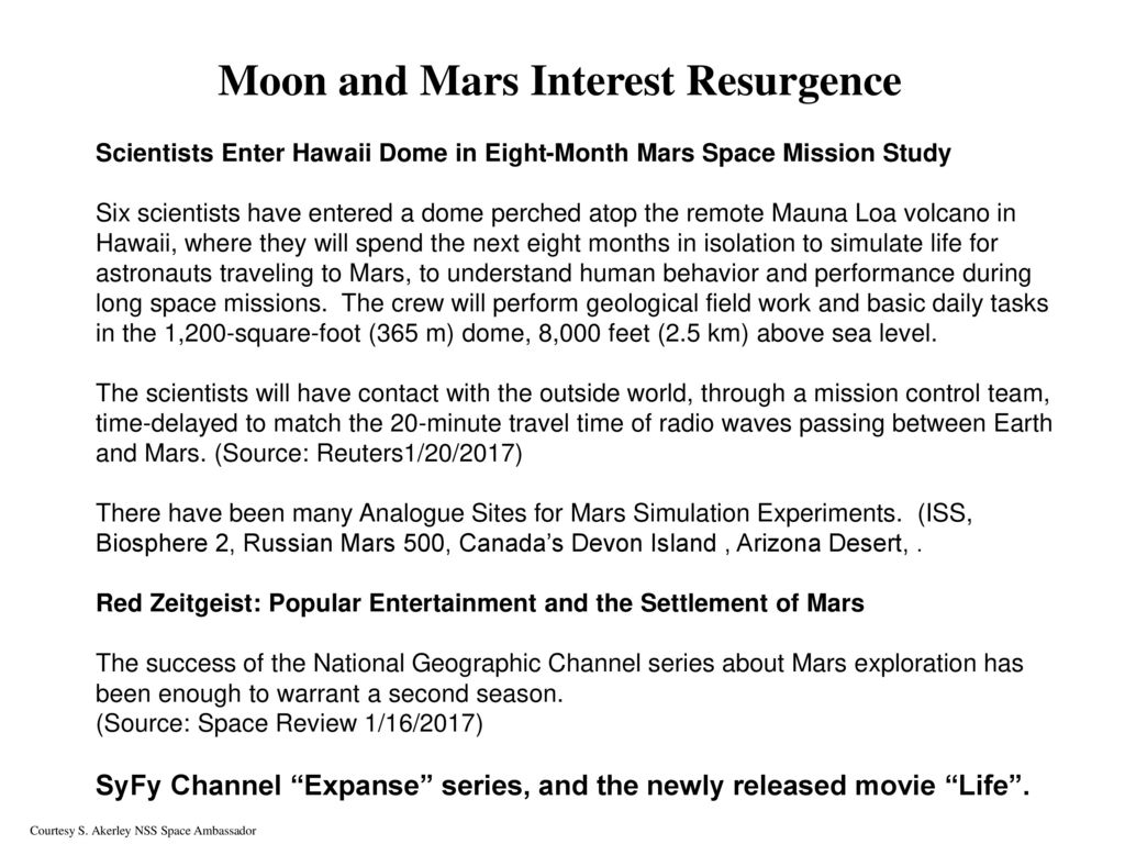 second minute to mars