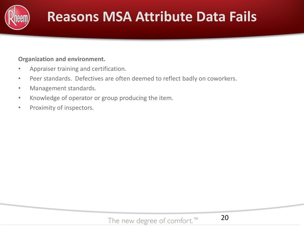 Dsqr training attribute msa ppt download reasons msa attribute data fails xflitez Choice Image