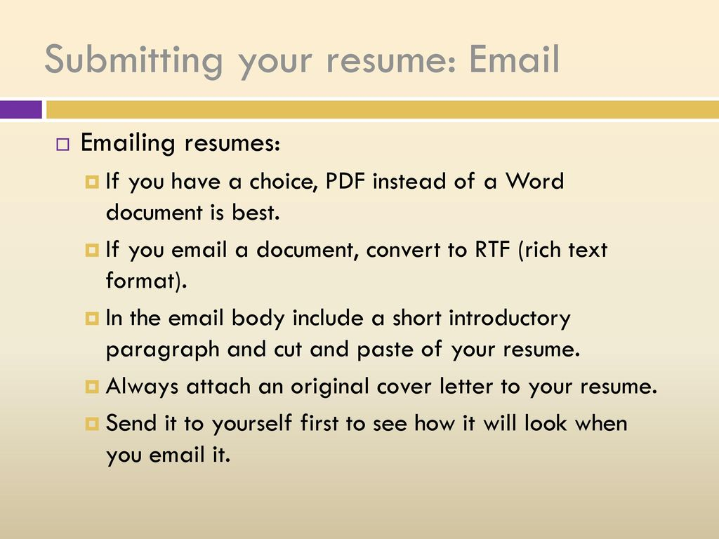 Beautiful Should You Send Your Resume As A Pdf Or Word Document