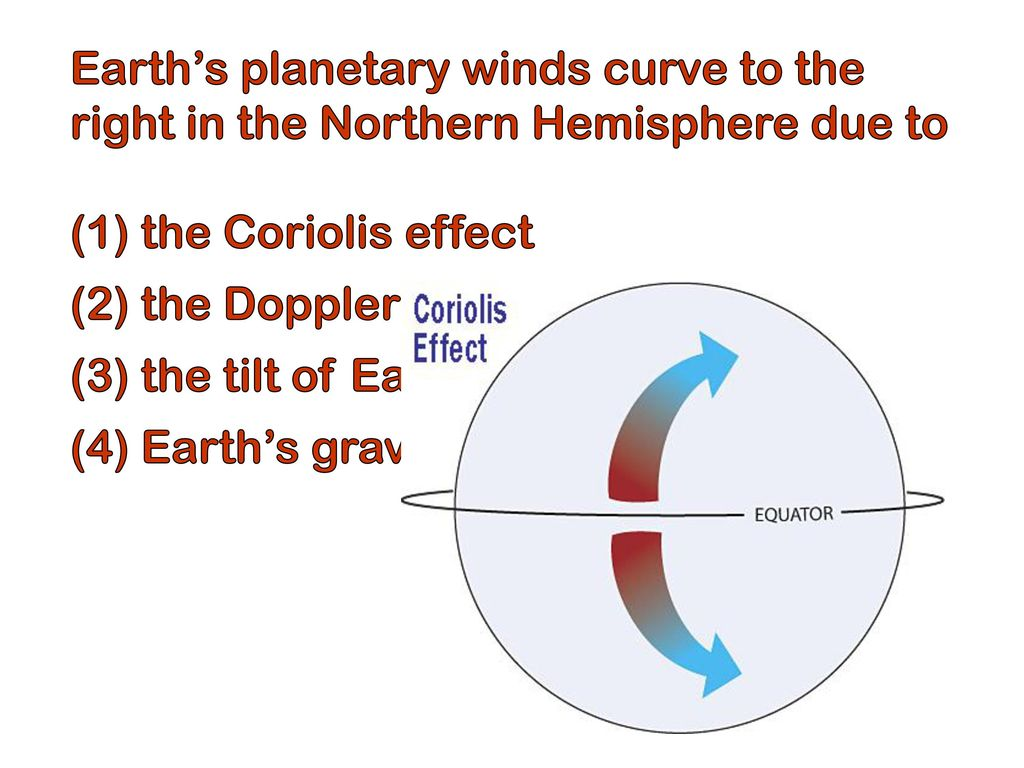 Planetary winds in the northern hemisphere ppt download 4 earths pooptronica