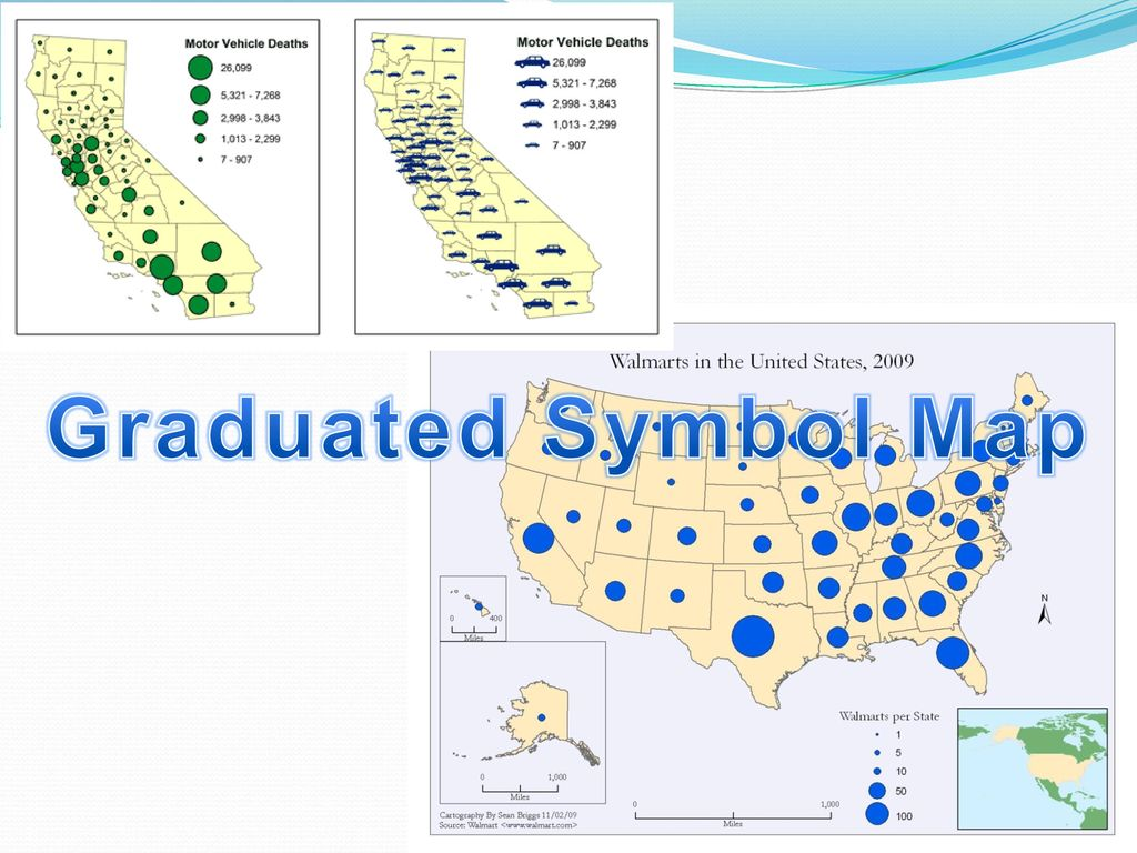 Thinking geographically ppt download 9 graduated symbol map biocorpaavc Image collections