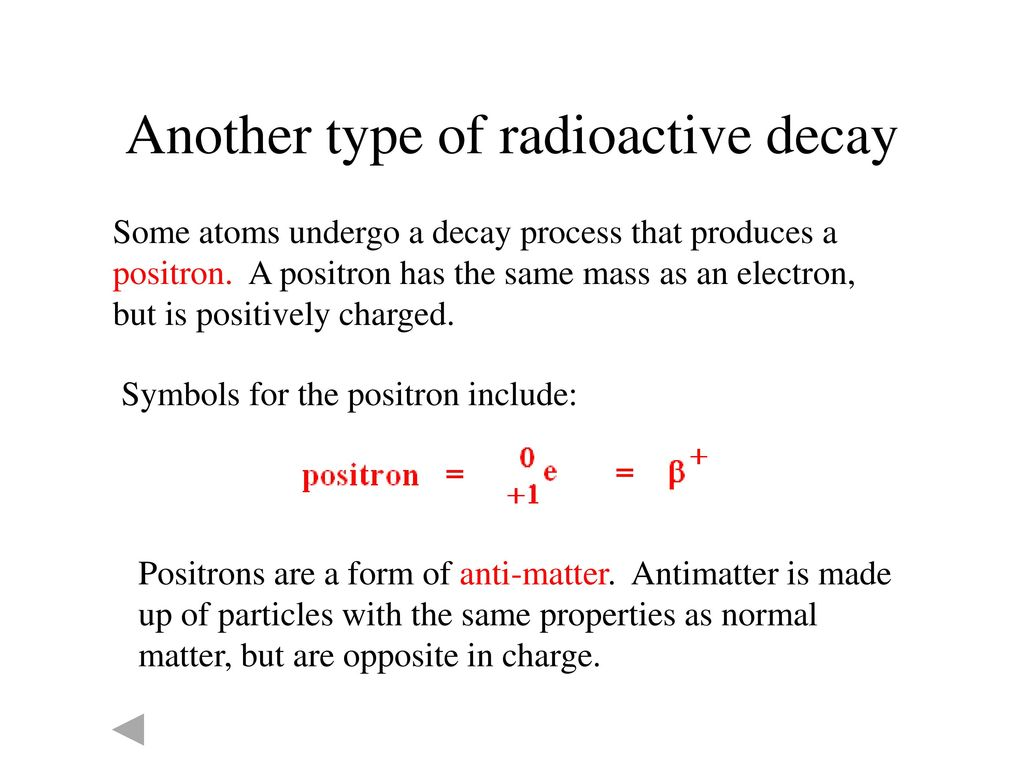 Nuclear chemistry ppt download another type of radioactive decay buycottarizona Images