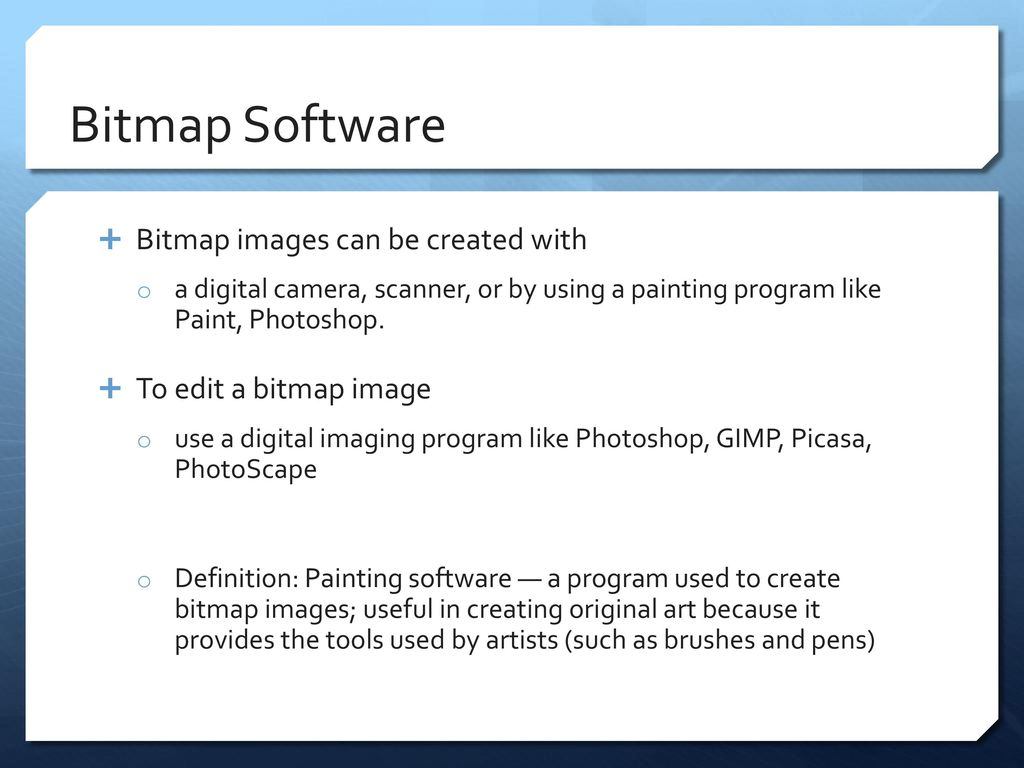 how to create a bitmap image in paint