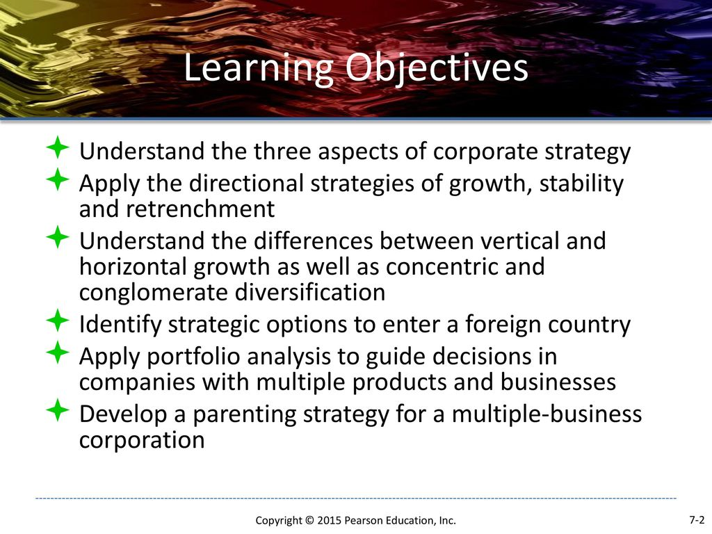 differences between directional portfolio and parenting strategies Answer: true diff: 1 page ref: 207 topic: directional strategy 4) a merger is a  transaction involving two or more corporations in which stock is exchanged, but.